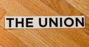 Image of The Union Stickers - Black