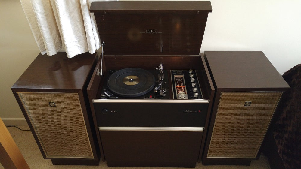 sanyo otto radiogram vintage hifi conversions. Black Bedroom Furniture Sets. Home Design Ideas