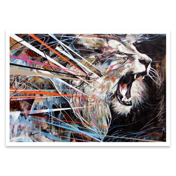 Image of ROARING LION Open Edition Print