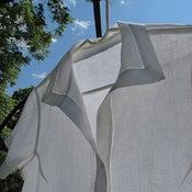 Image of White Linen Blouse