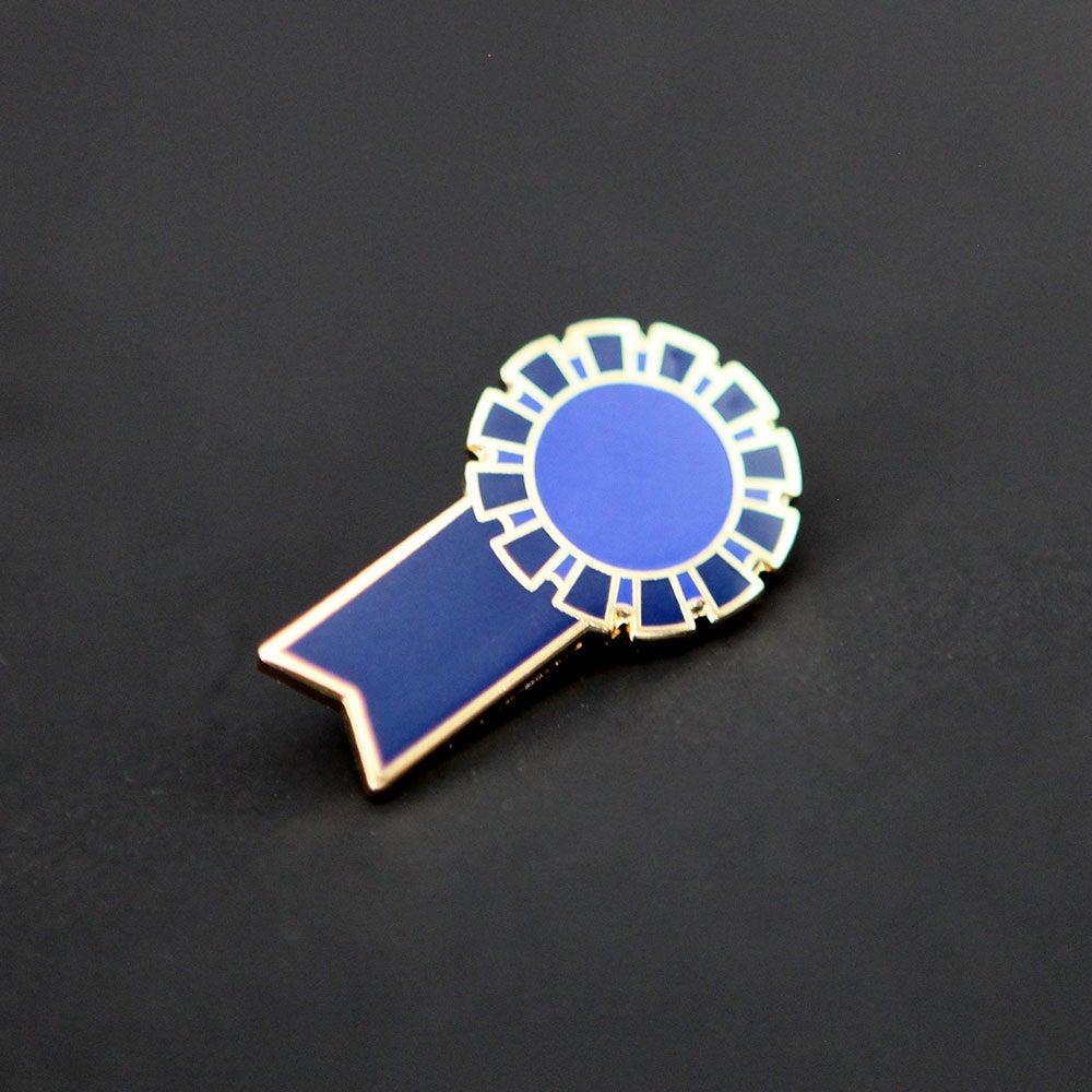 Image of Blue Ribbon Pin