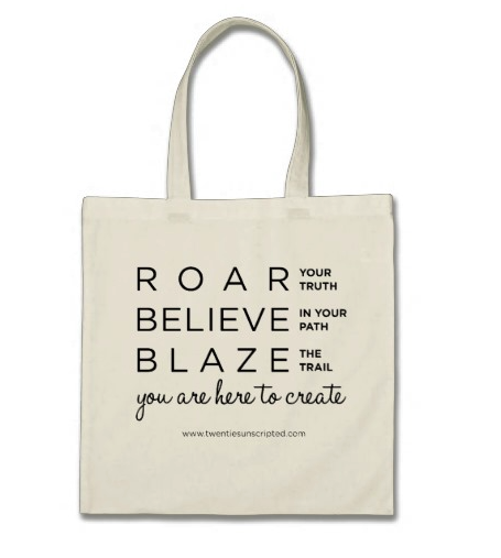 Image of Roar Tote Bag