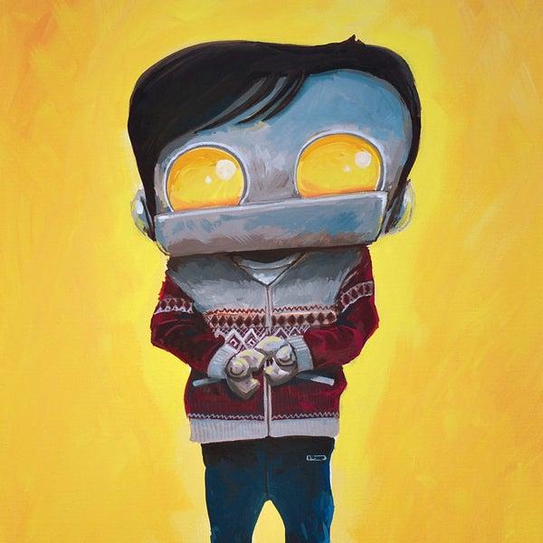Derek - Matt Q. Spangler Illustration