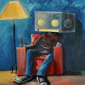 Hangin on a Sunday - Matt Q. Spangler Illustration