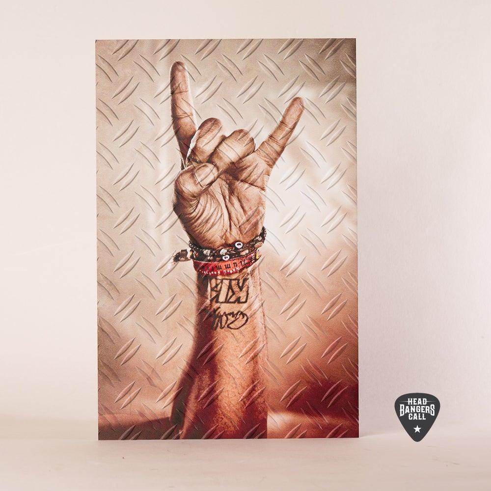 Image of HEADBANGERSCALL Metal Print #1 - Superstar Joey Severance