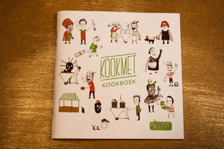 Image of KOOKMET kookboek
