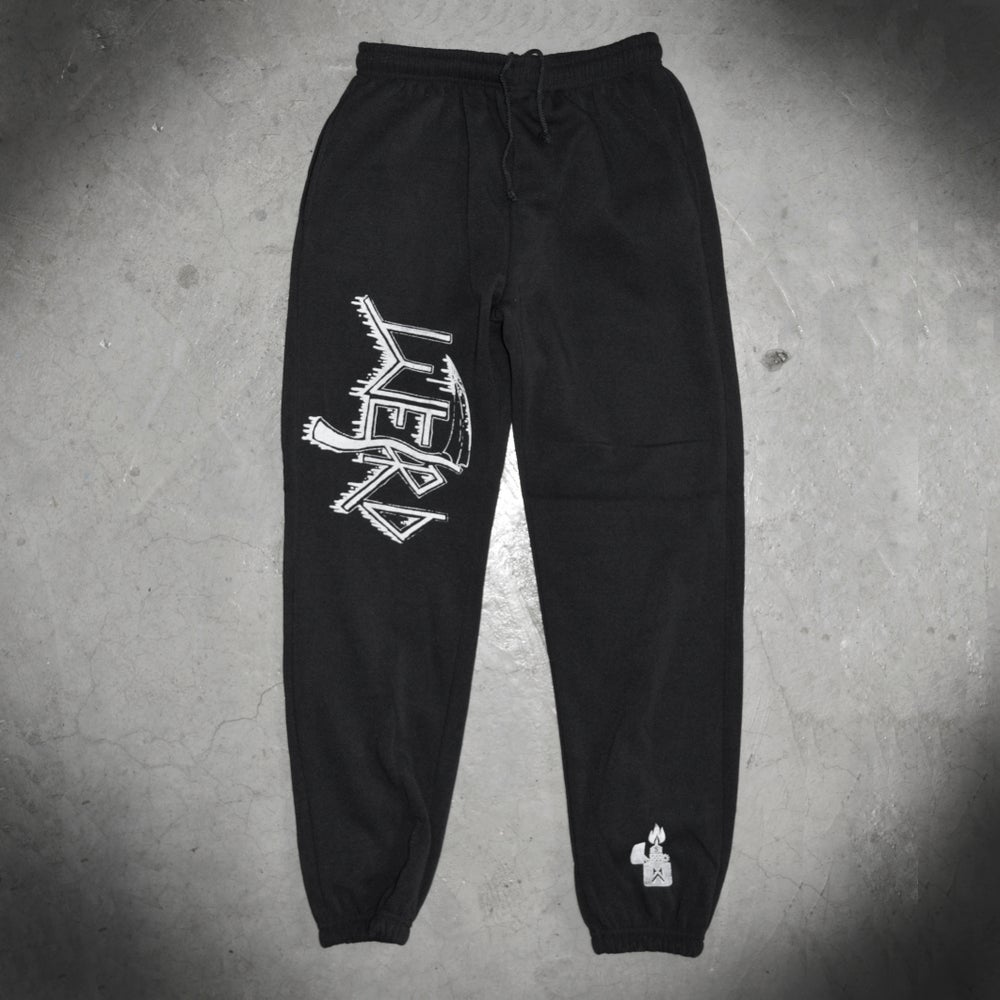 Image of DEATH BLACK SWEATPANTS