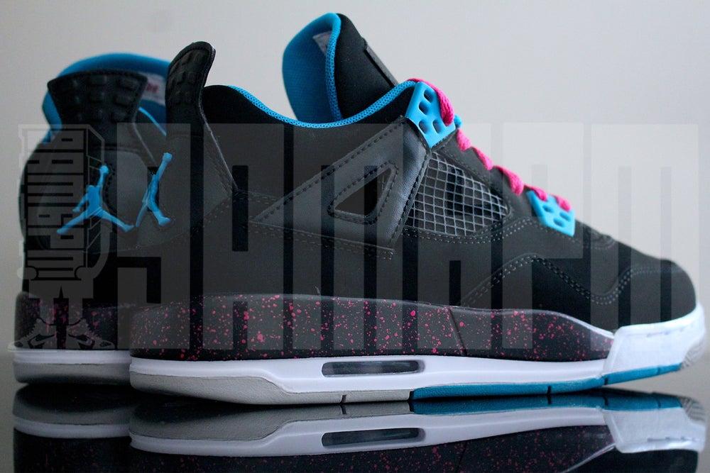 """Image of Nike AIR JORDAN 4 RETRO GS """"VIVID"""""""
