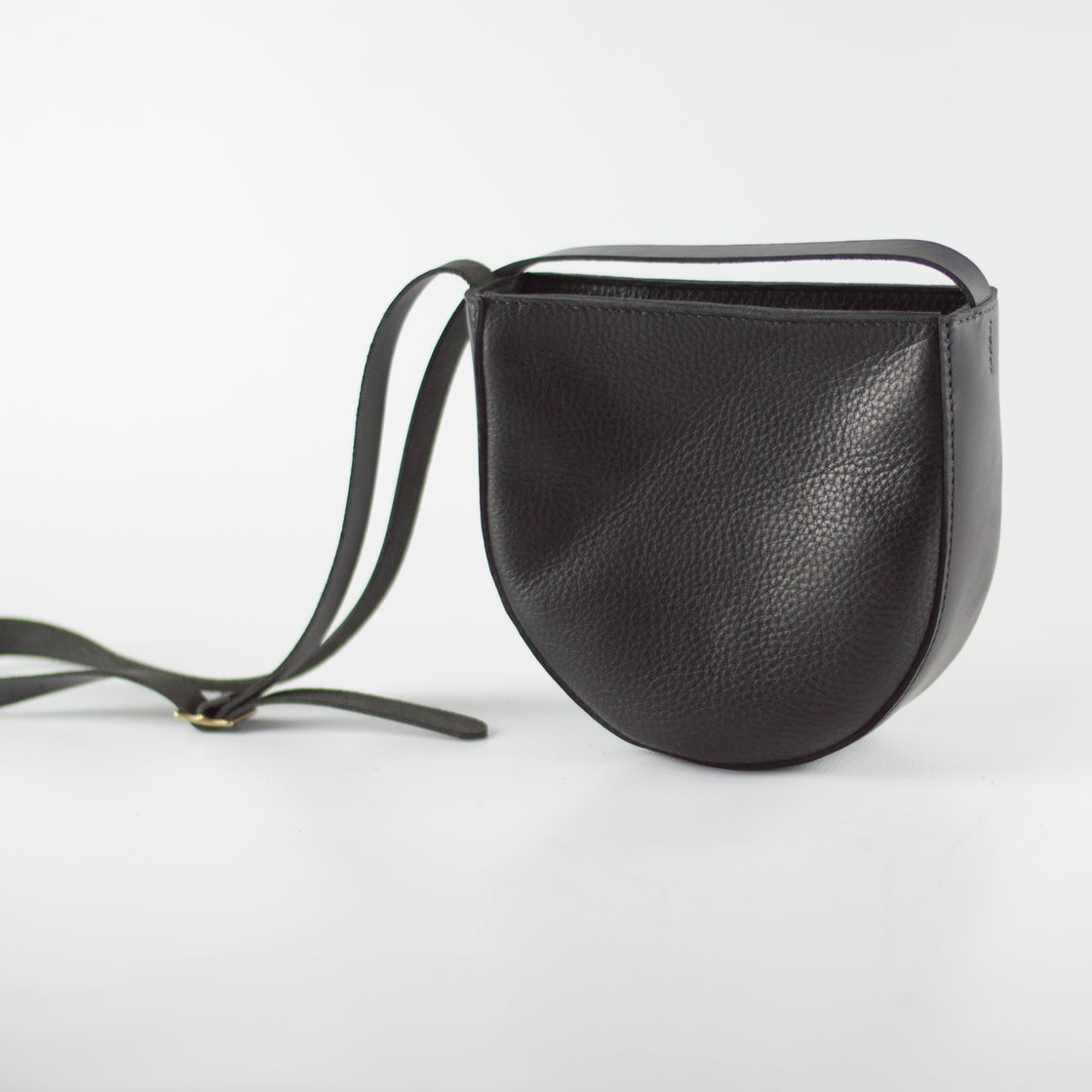 Image of Soft Leather Shoulder Bag