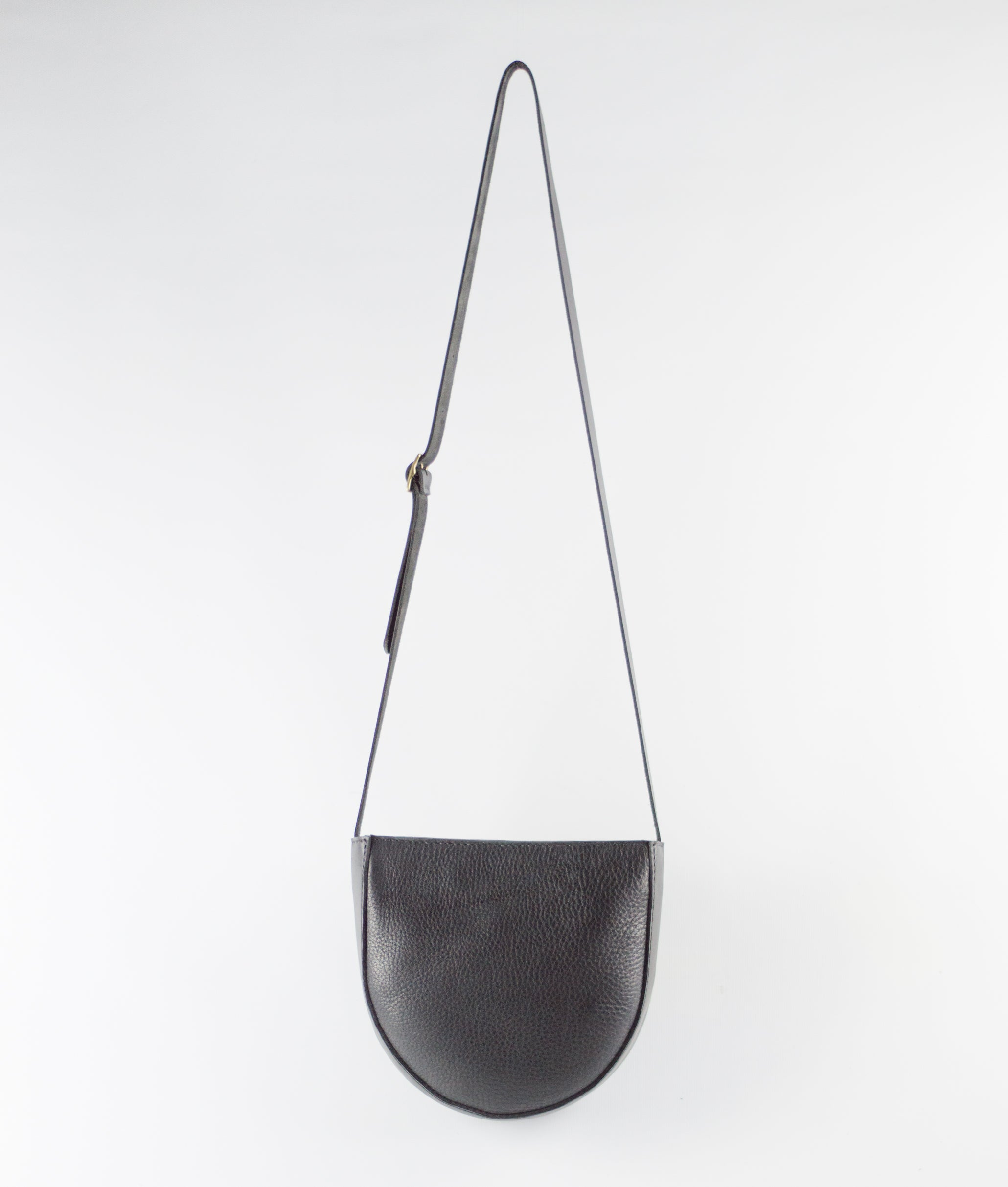 Crow — Soft Leather Shoulder Bag