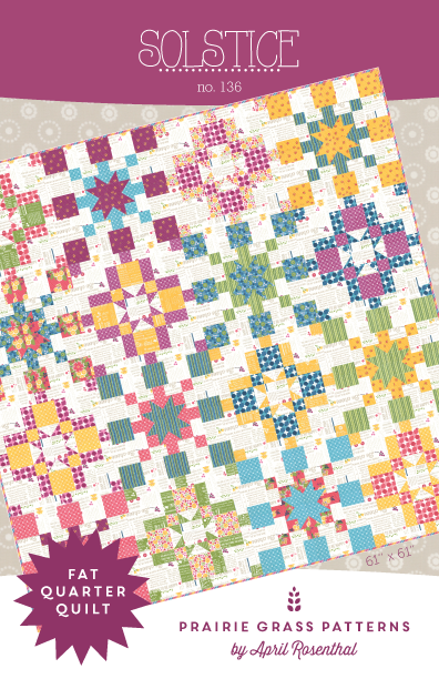 Image of Solstice: Quilting Pattern #136