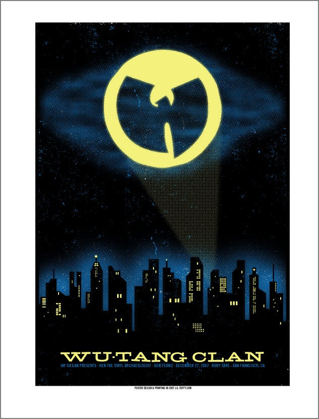 Image of Wu-Tang Clan - San Francisco 2007