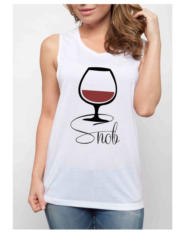 Image of WINE SNOB muscle