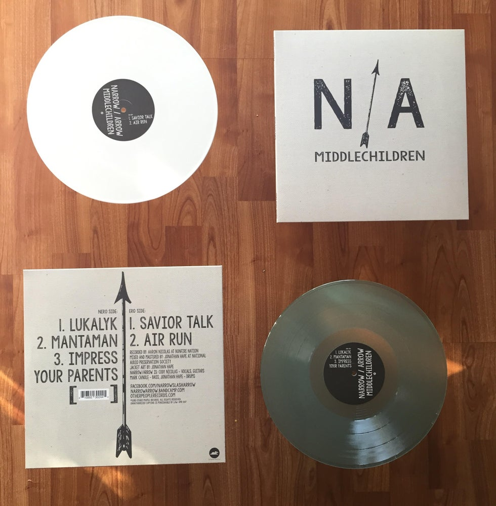 "Image of Narrow / Arrow - Middle Children 12"" Vinyl"