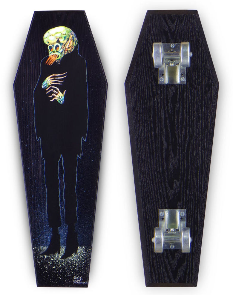 "Image of Craig Gleason ""Ghould-Grind"" 22"" Coffin"