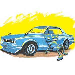 72' and Chillin' Print - Matt Q. Spangler Illustration