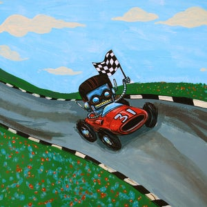 Winner! - Matt Q. Spangler Illustration