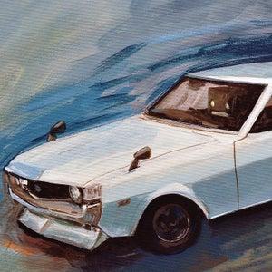 Toyota Celica TA22 - Matt Q. Spangler Illustration