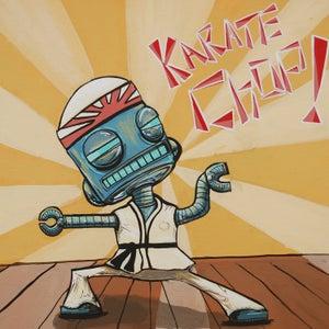 Karate Chop! - Matt Q. Spangler Illustration