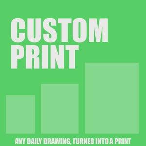 Custom Print - Robot Art by Matt Q. Spangler