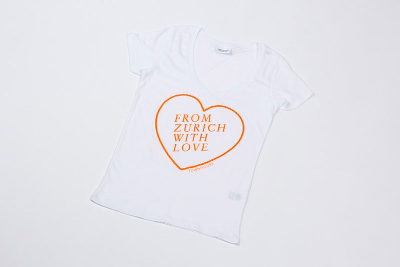 Image of From Zurich With Love T-shirt