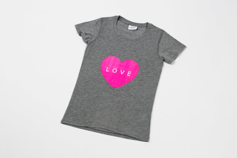 Image of Neon Heart T-shirt