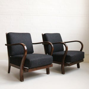 Image of Art Deco Armchairs (pair)