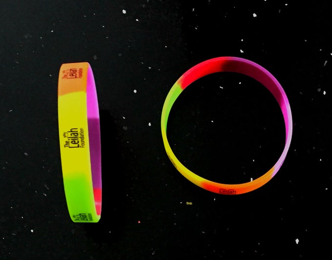 Image of The Leilah Foundation Wristband