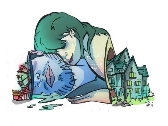"""Image of """"Sometimes I Wonder""""  Print"""