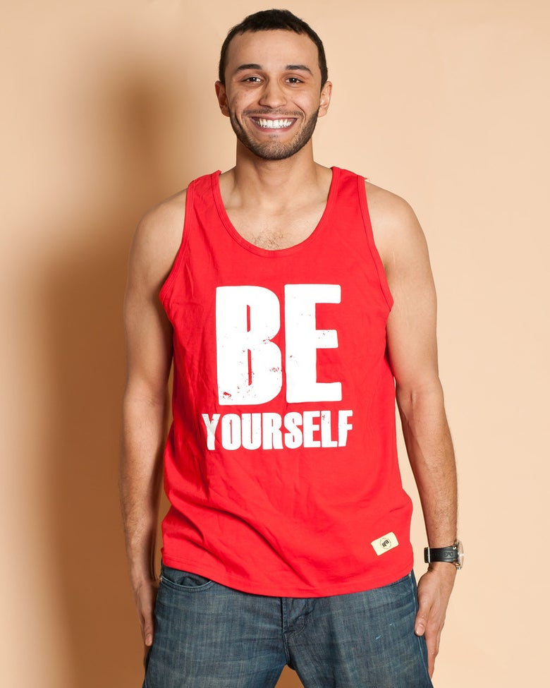 Image of Be Yourself Red
