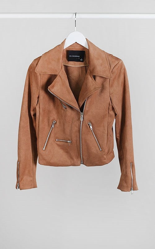 Image of Tan Moto Leather Lush