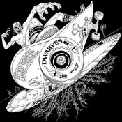 Image of The Dwarves - Radio Free Dwarves Luchador Zombie Thrasher Shirt (Discharge / Black)