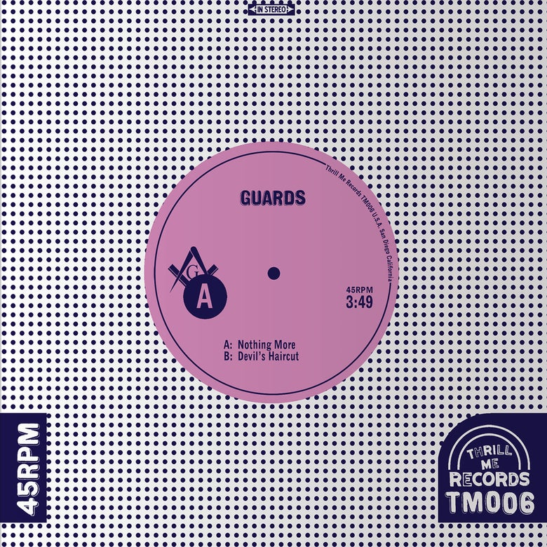 Image of Guards – Nothing More 7""