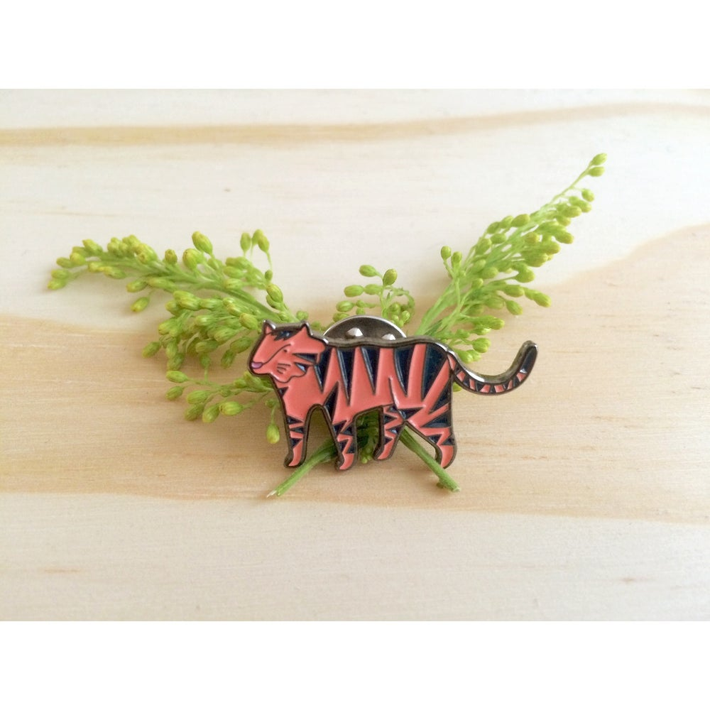 Image of Tiger Enamel Pin