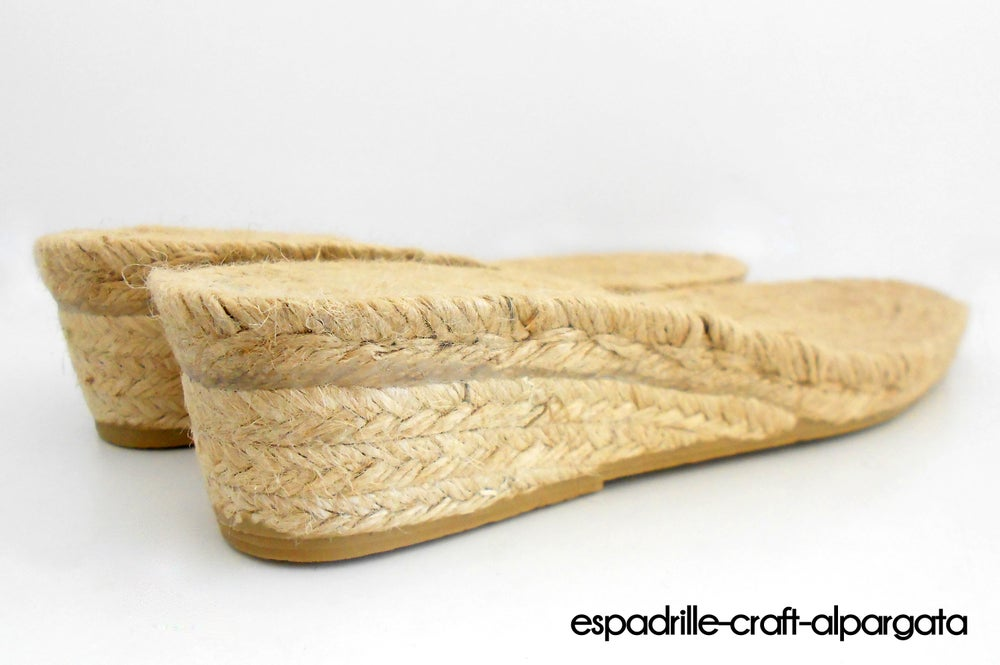 Image of espadrille soles m6 -5 cms heel
