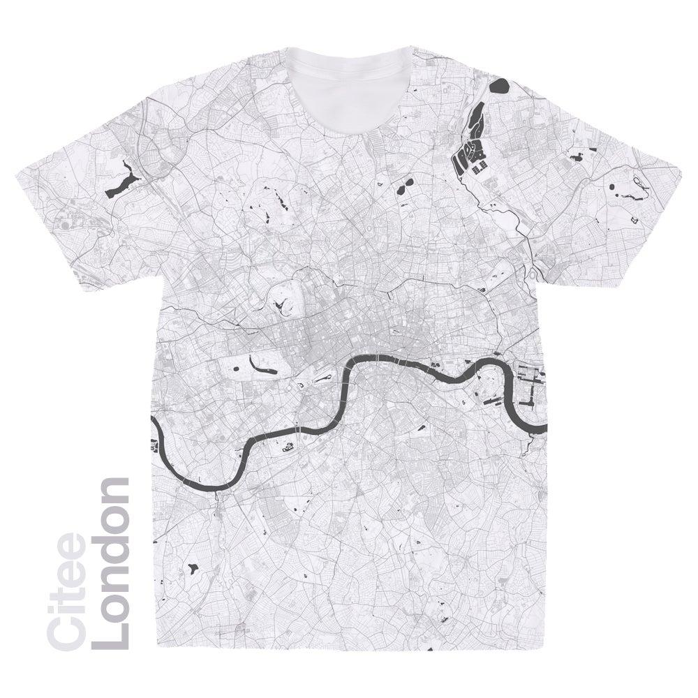 Image of London map t-shirt