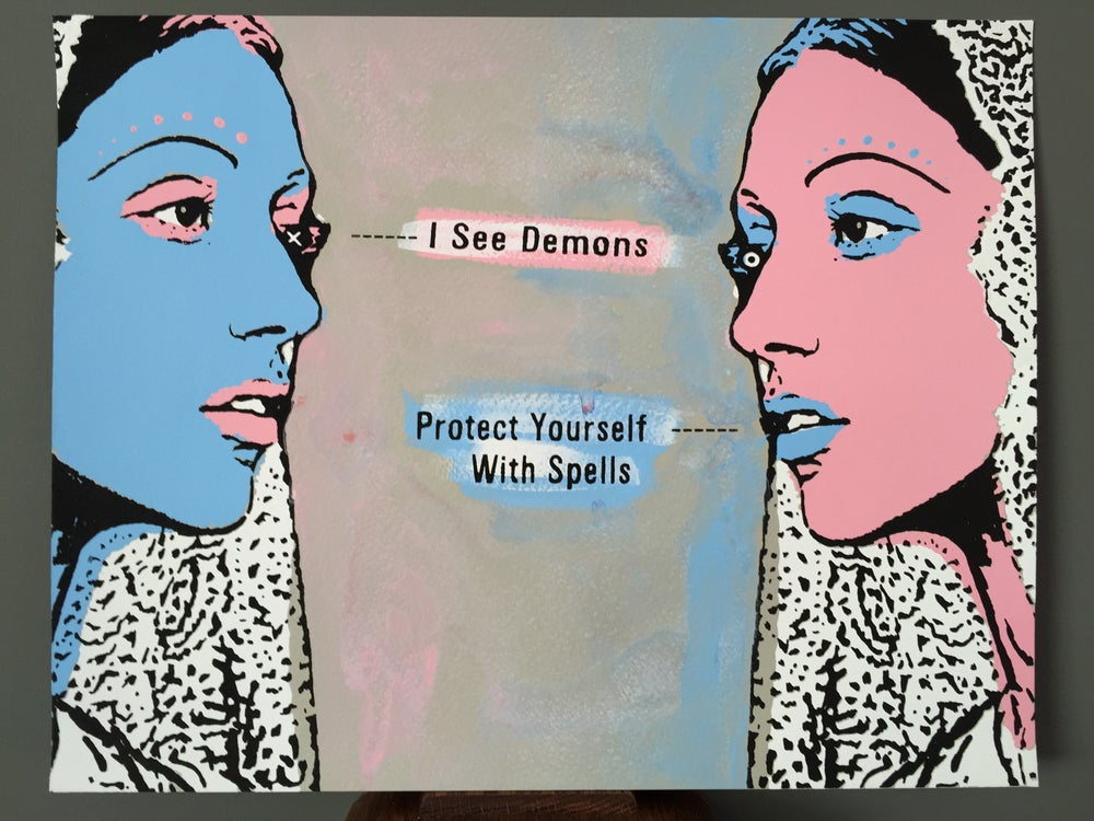 Image of Protect Yourself Art Print