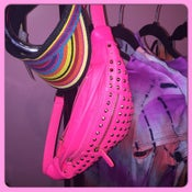 Image of Neon Stud Fanny Packs