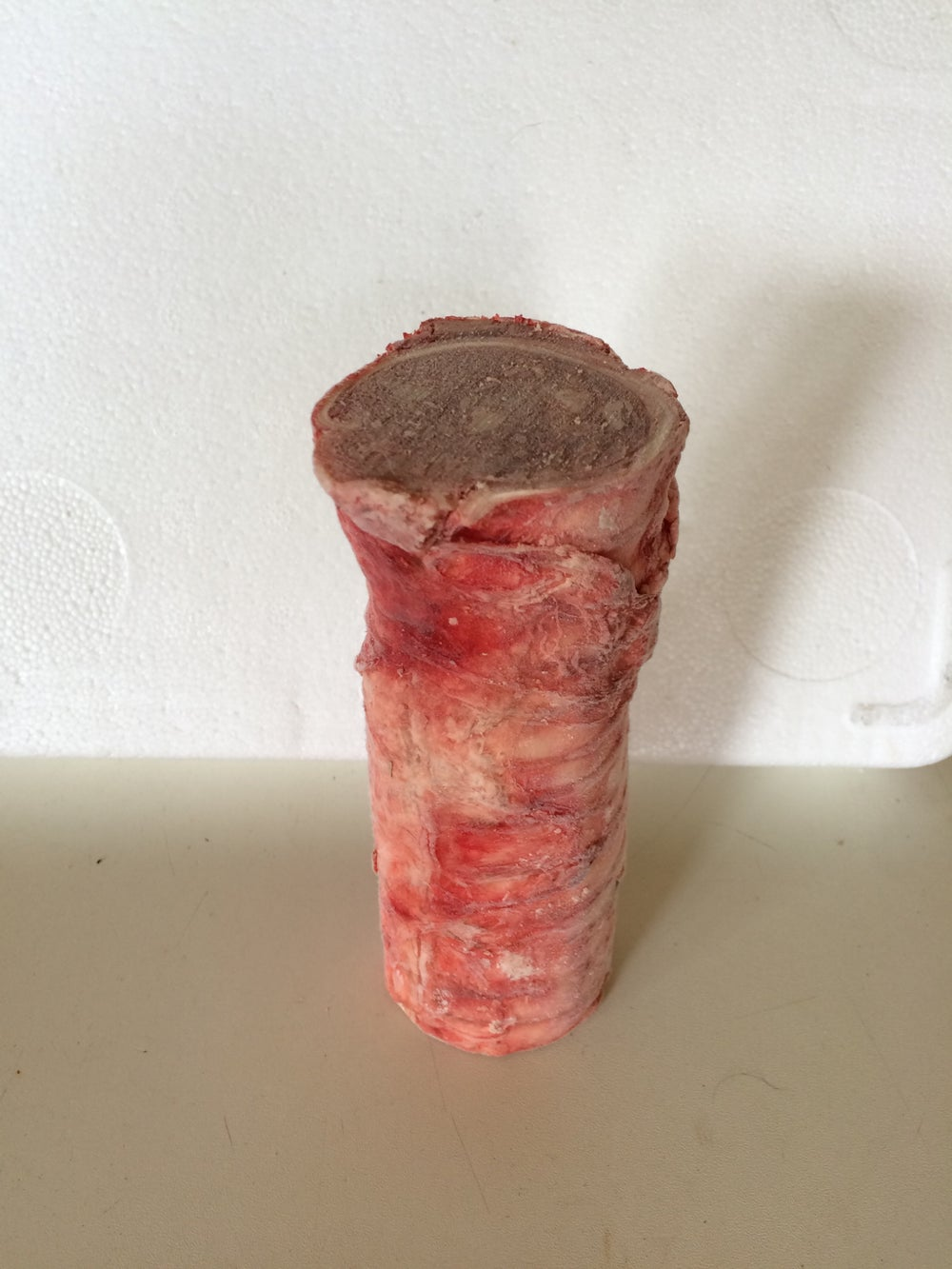 Image of Beef Throttle Stuffed with Chicken