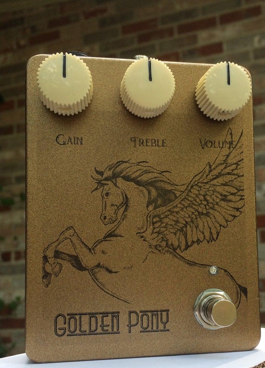 Image of Golden Pony Overdrive (Klon Centaur/KTR clone)