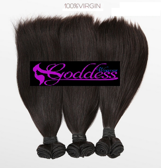 Image of Gold Goddess   Best Quality  Brazilian remy virgin Hair curly weft & closure