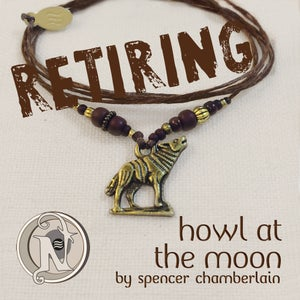 Image of Brass Howl At the Moon NTIO Bracelet By Spencer Chamberlain