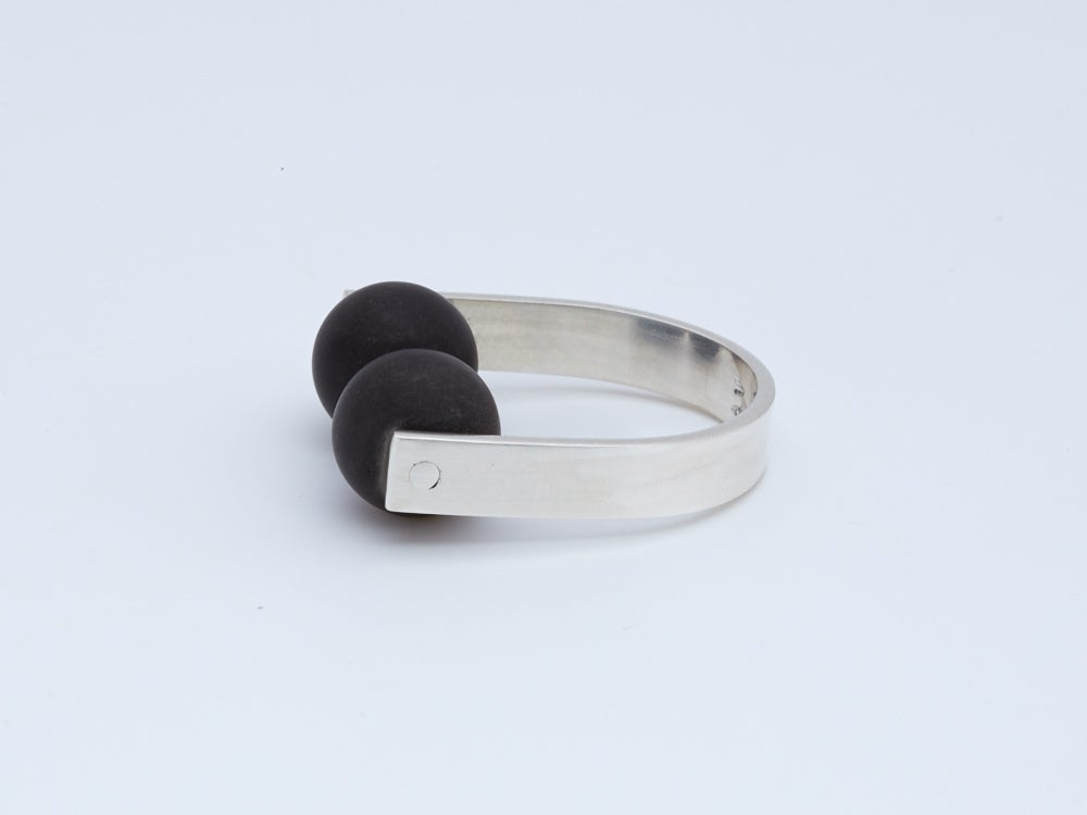 Image of Double Sphere Ring