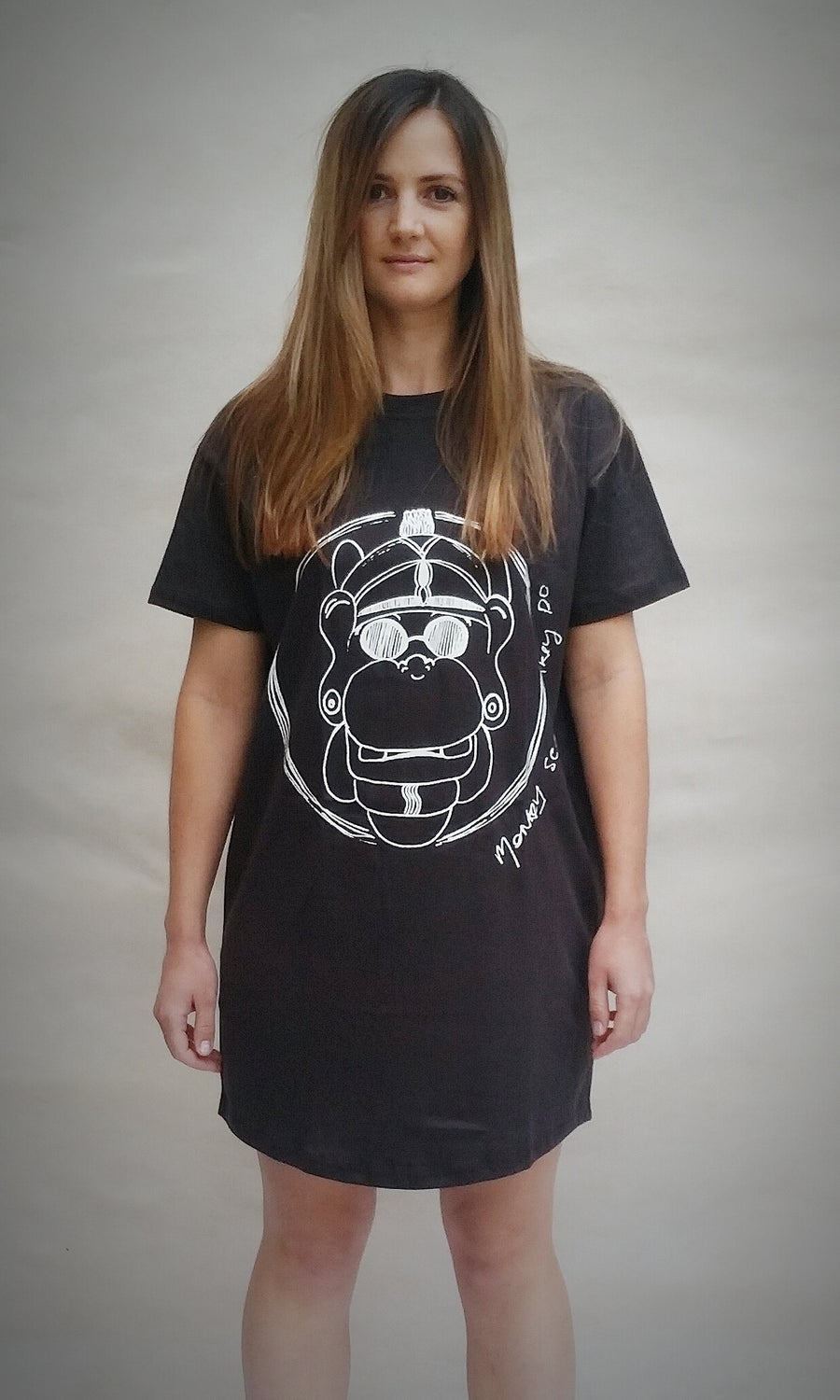 Image of Monkey see... Monkey do... - bed tee