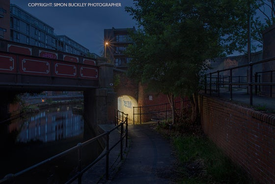 Image of BELOW NEW UNION STREET, ANCOATS, 4.21AM