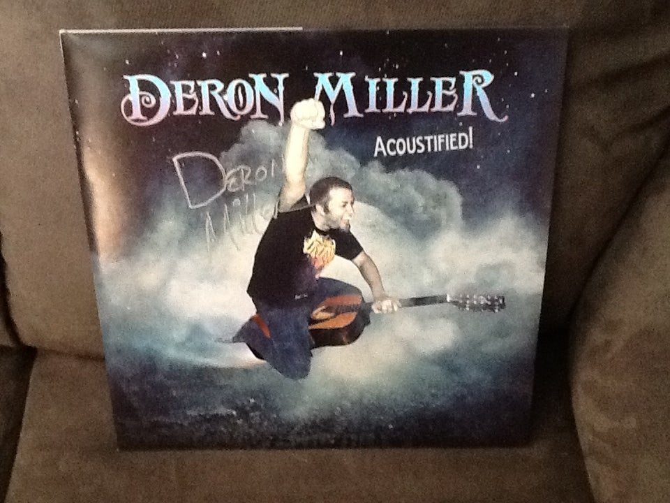 "Image of Deron Miller ""Acoustified!"" autographed double LP vinyl! 50 copies"