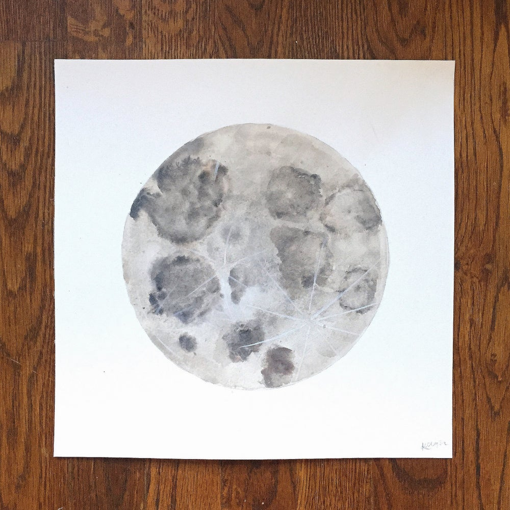 Image of Moon - 8x8