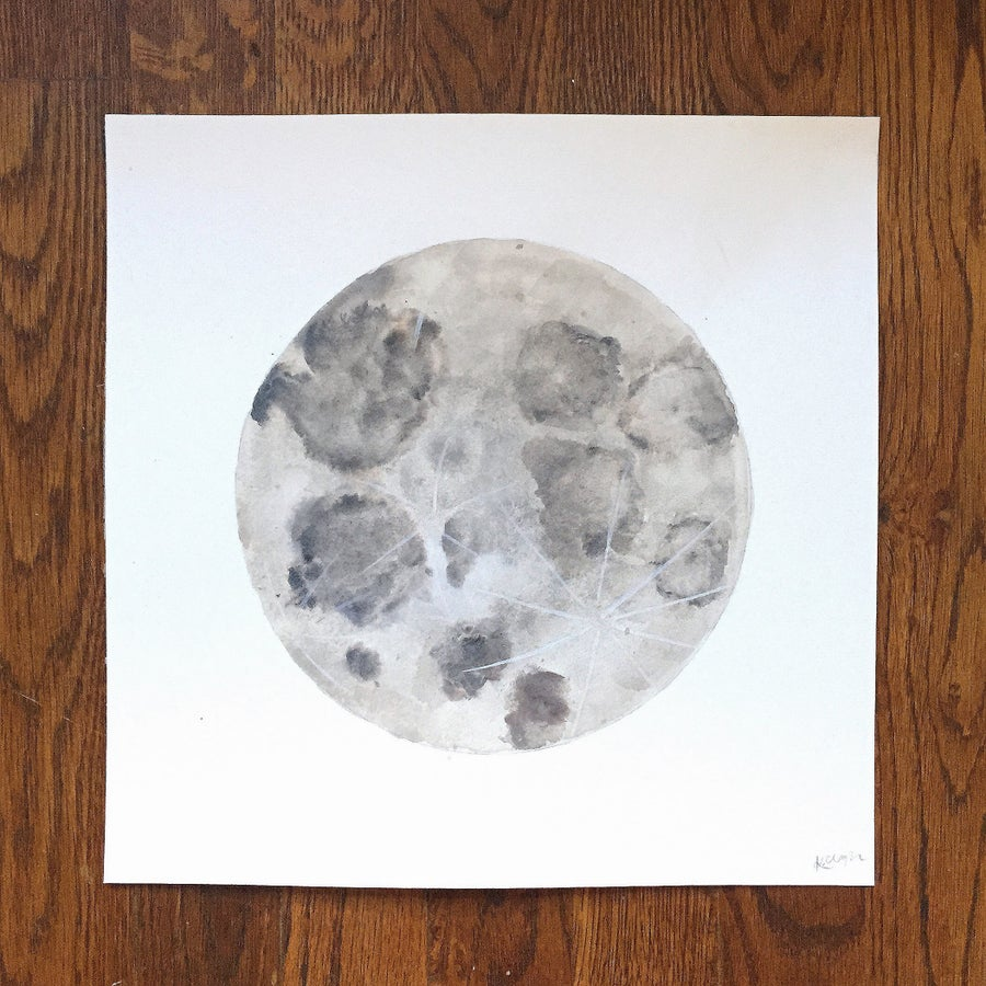 Image of Moon - 8x8
