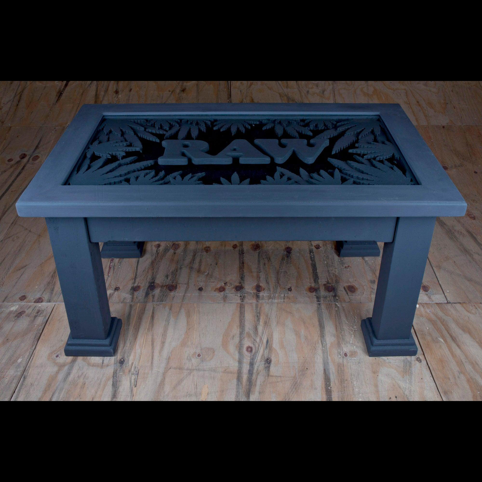 custom made raw coffee table joe tek