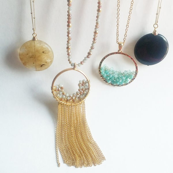 Image of super long necklaces 48 inch chain